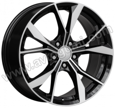 ПО BK5808 Полиран черен лак VW