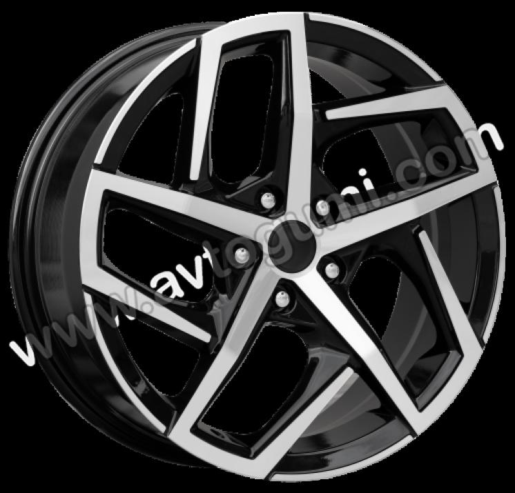 ПО XFE442  Полиран черен лак  VW